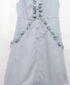 Đầm Suông Chữ A Phối Bèo