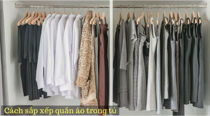 cách treo quần áo trong tủ